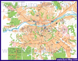 Подробная карта города Смоленск