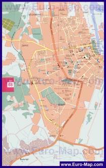 Подробная карта города Сыктывкар