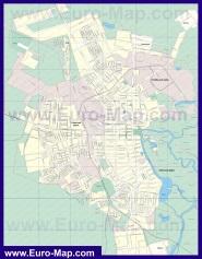 Подробная карта города Тамбов