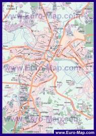 Подробная карта города Тула