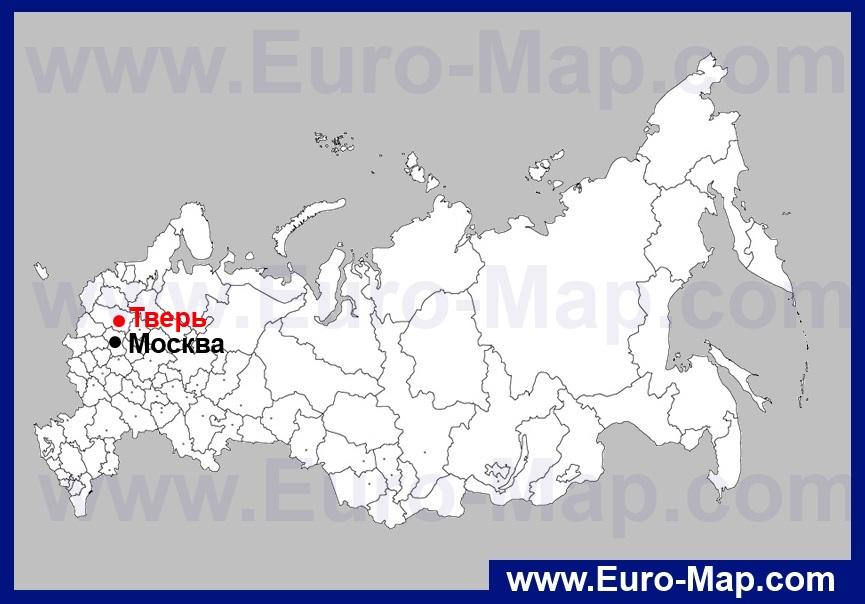 Карта транспорта твери