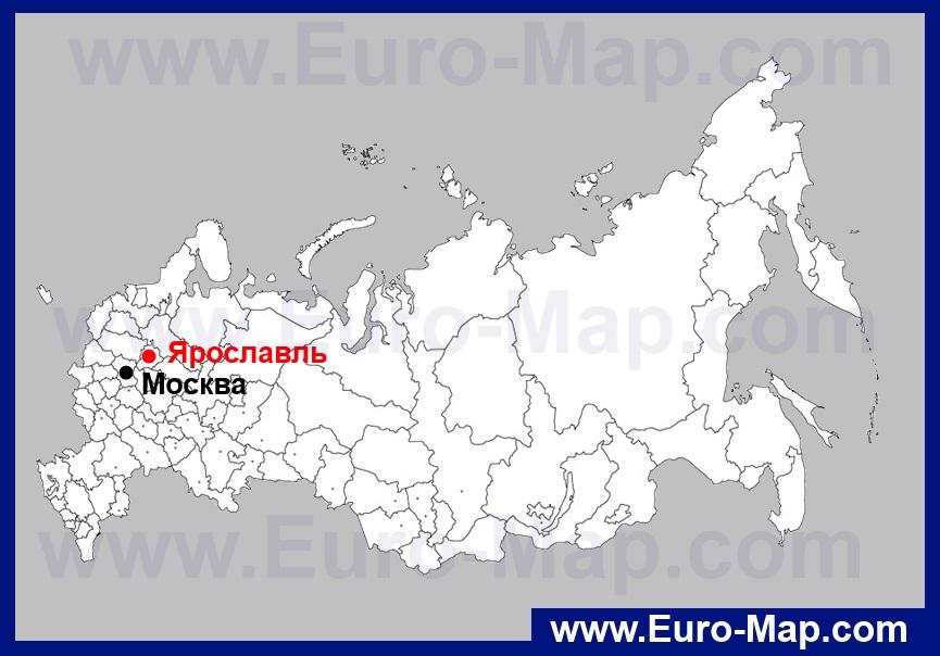 Яндекс карта ярославль с