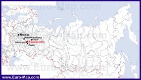 Йошкар-Ола на карте России