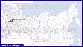 Юрьев-Польский на карте России