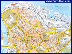 Карта города Белград