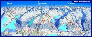 Горнолыжная карта Давоса