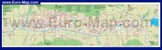 Подробная карта Давоса