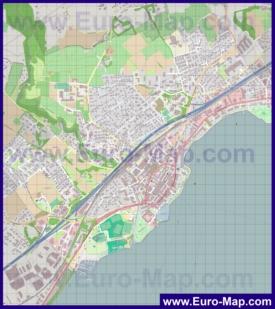 Карта города Морж
