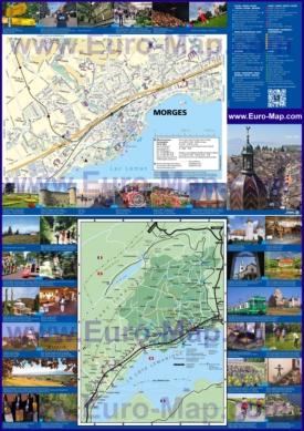 Подробная туристическая карта Моржа с достопримечательностями