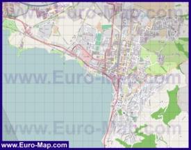 Карта города Цуг