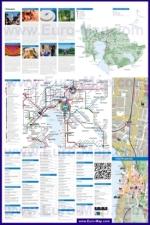 Подробная туристическая карта города Цуга с отелями и достопримечательностями (страница 2)