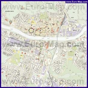 Подробная карта города Марибор