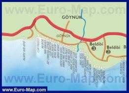 Карта отелей Гейнюка