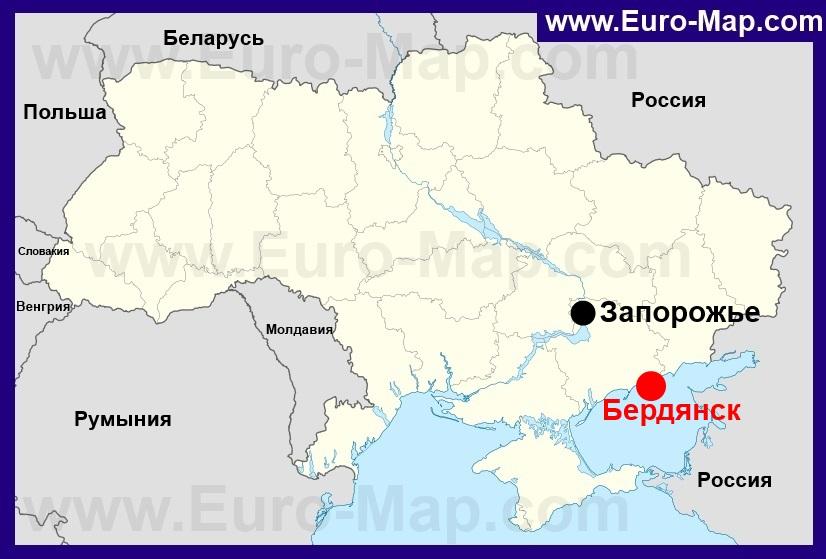 Бердянск Карта С Улицами И