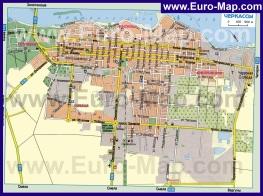Карта города Черкассы