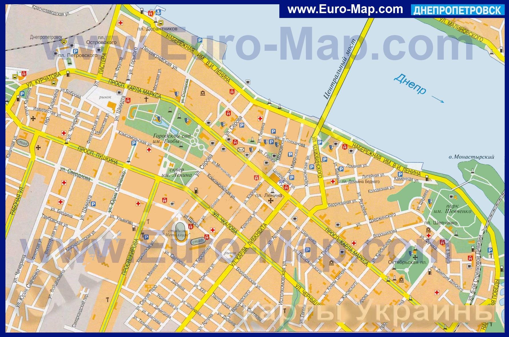 уже было карта города днепропетровска с улицами и домами подробно длинным рукавом