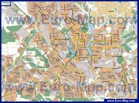 Карта районов Донецка