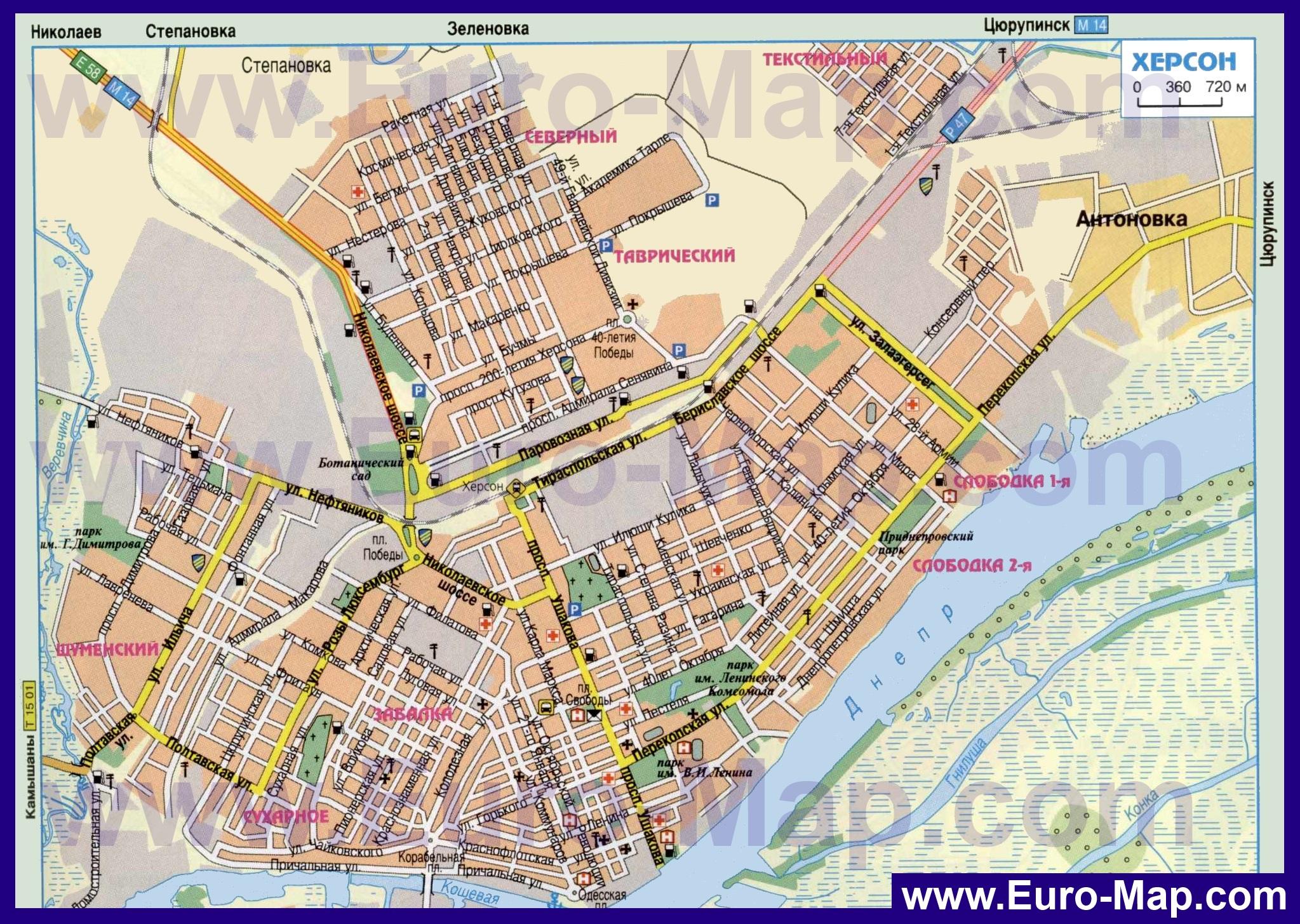 Карта Города Белебей С Улицами