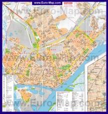 Подробная карта города Херсон