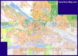 Подробная карта города Хмельницкий