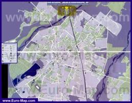 Подробная карта города Ивано-Франковск