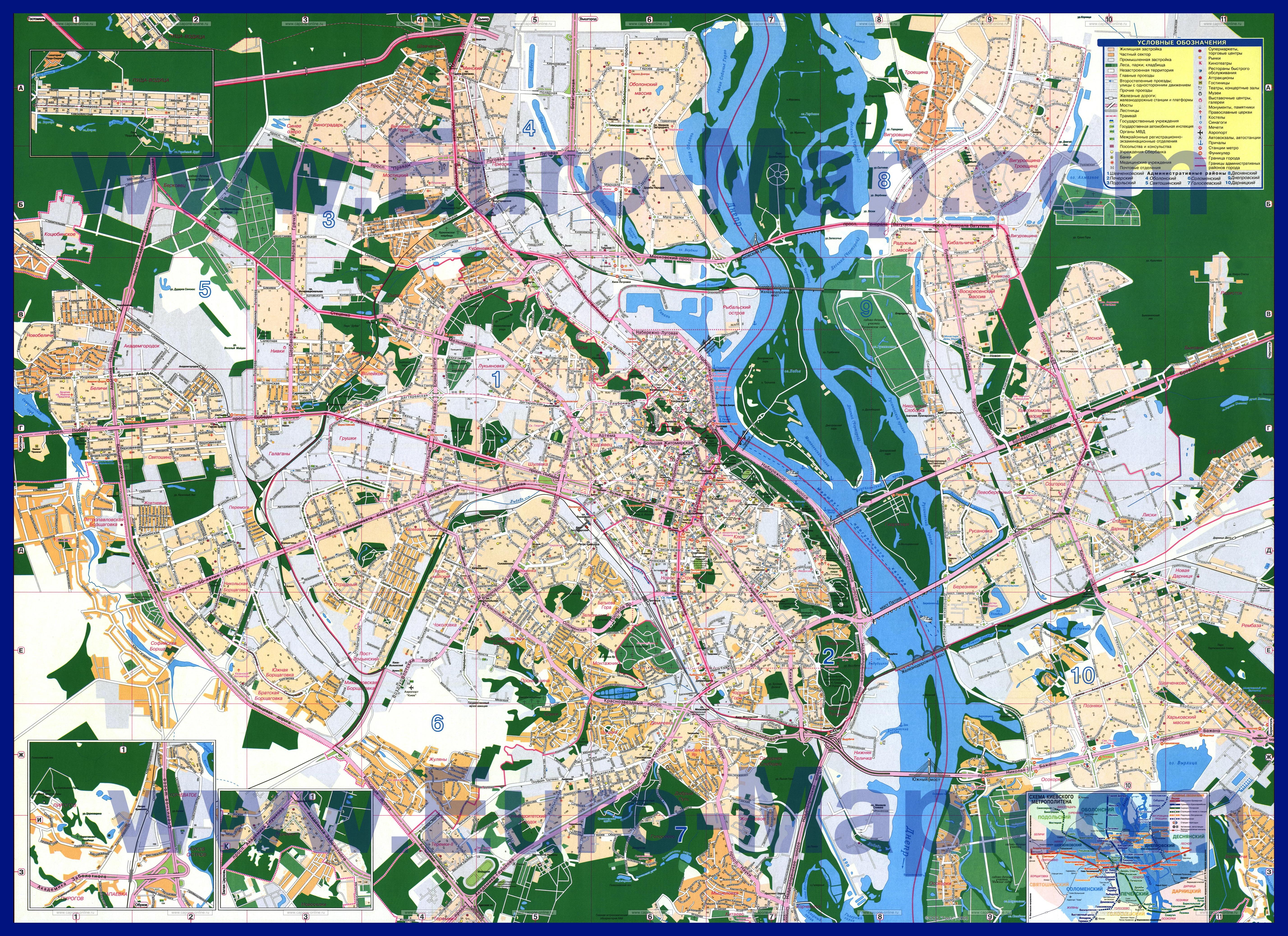 карта алчевска с домами