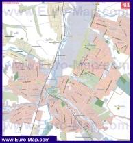 Подробная карта города Краматорск