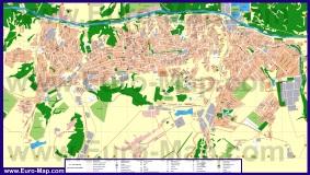 Подробная карта города Лисичанск