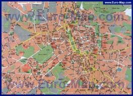 Подробная карта города Львов
