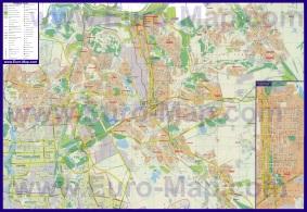 Подробная карта города Макеевка