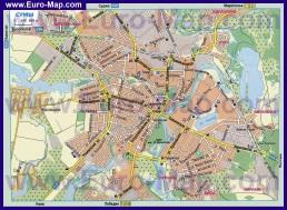Автомобильная карта дорог города Сумы