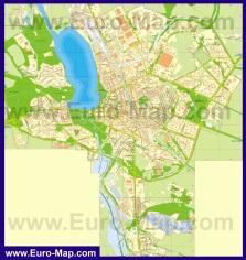 Подробная карта города Тернополь
