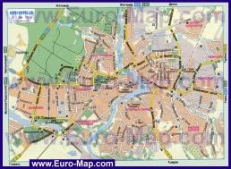 Автомобильная карта дорог Винницы