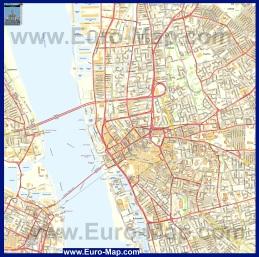 Подробная карта Ливерпуля
