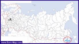 Озеро Ханка на карте России